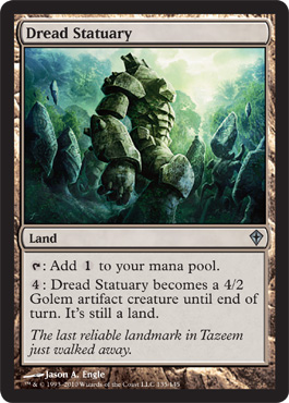 Dread Statuary | Magic: The Gathering Card