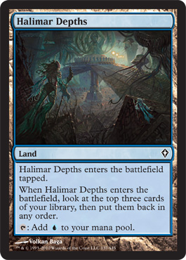 Halimar Depths | Magic: The Gathering Card