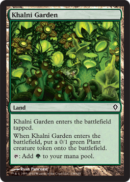 Khalni Garden | Magic: The Gathering Card