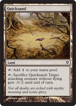 Quicksand | Magic: The Gathering Card