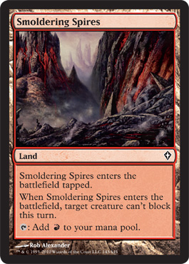 Smoldering Spires | Magic: The Gathering Card