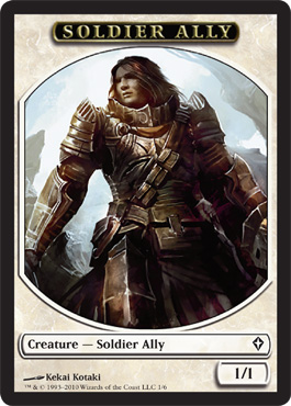 Soldier Ally | Magic: The Gathering Card