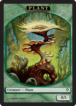 Plant Token | Magic: The Gathering Card