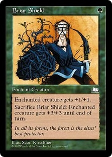 Briar Shield | Weatherlight | Magic: The Gathering at ... Planeswalker Activated Ability
