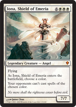 Iona, Shield of Emeria | Magic: The Gathering Card