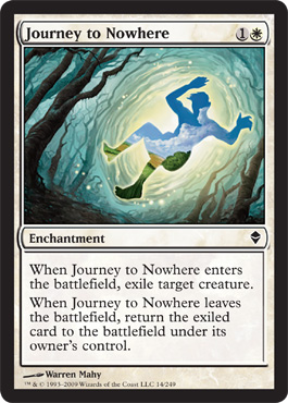Journey to Nowhere | Magic: The Gathering Card