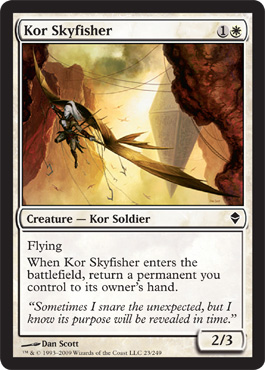 Kor Skyfisher | Magic: The Gathering Card