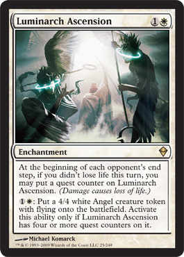 Luminarch Ascension | Magic: The Gathering Card