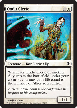 Ondu Cleric | Magic: The Gathering Card