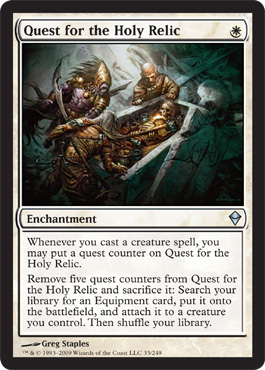 Quest for the Holy Relic | Magic: The Gathering Card