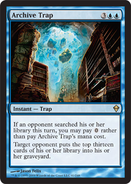 Archive Trap | Magic: The Gathering Card
