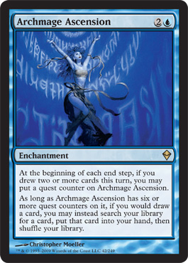 Archmage Ascension | Magic: The Gathering Card
