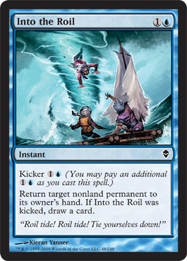 Into the Roil | Magic: The Gathering Card