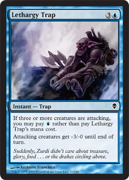 Lethargy Trap | Magic: The Gathering Card