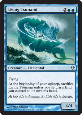 Living Tsunami | Magic: The Gathering Card