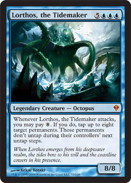 Lorthos, the Tidemaker | Magic: The Gathering Card