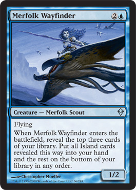 Merfolk Wayfinder | Magic: The Gathering Card