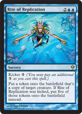 Rite of Replication | Magic: The Gathering Card