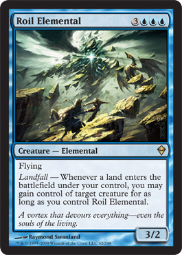 Roil Elemental | Magic: The Gathering Card