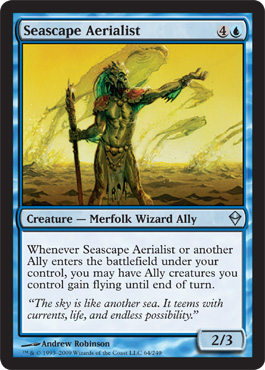 Seascape Aerialist | Magic: The Gathering Card