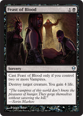 Feast of Blood | Magic: The Gathering Card