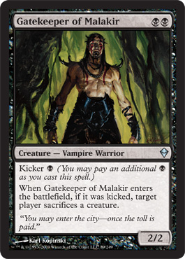 Gatekeeper of Malakir | Magic: The Gathering Card