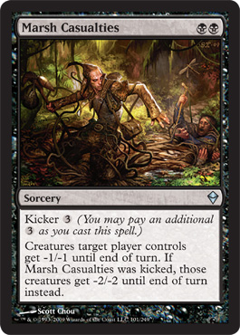 Marsh Casualties | Magic: The Gathering Card