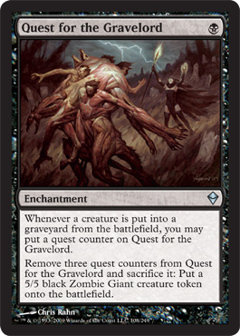 Quest for the Gravelord | Magic: The Gathering Card
