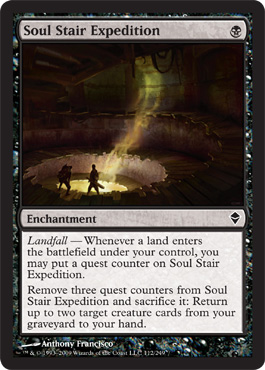Soul Stair Expedition | Magic: The Gathering Card