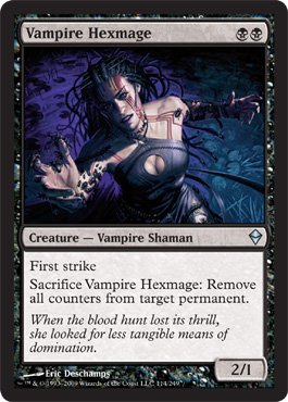 Vampire Hexmage | Magic: The Gathering Card