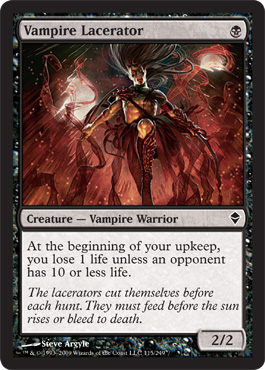 Vampire Lacerator | Magic: The Gathering Card