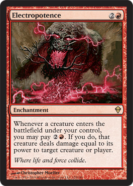 Electropotence | Magic: The Gathering Card