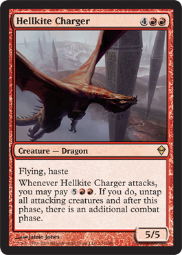 Hellkite Charger | Magic: The Gathering Card