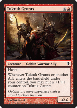 Tuktuk Grunts | Magic: The Gathering Card