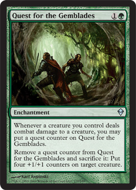 Quest for the Gemblades | Magic: The Gathering Card