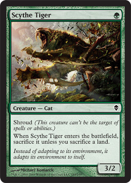 Scythe Tiger | Magic: The Gathering Card