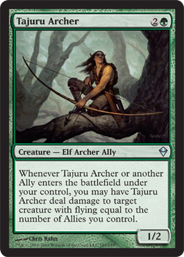 Tajuru Archer | Magic: The Gathering Card
