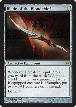 Blade of the Bloodchief | Magic: The Gathering Card