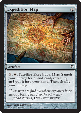 Expedition Map | Magic: The Gathering Card