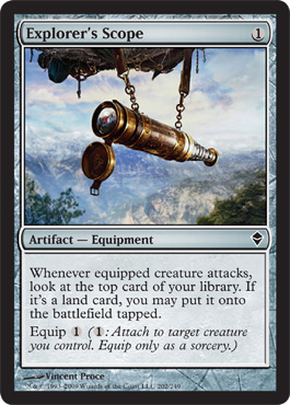 Explorer's Scope | Magic: The Gathering Card