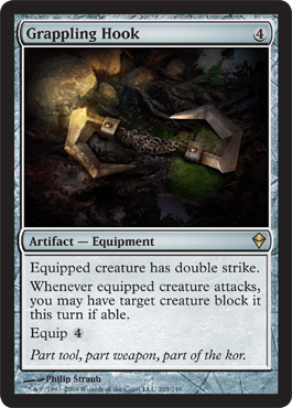 Grappling Hook | Magic: The Gathering Card