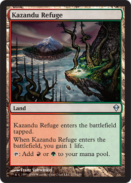Kazandu Refuge | Magic: The Gathering Card