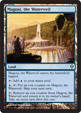 Magosi, the Waterveil | Magic: The Gathering Card