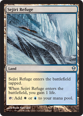 Sejiri Refuge | Magic: The Gathering Card