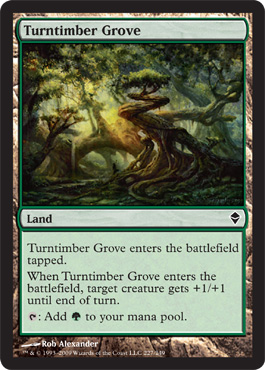 Turntimber Grove | Magic: The Gathering Card
