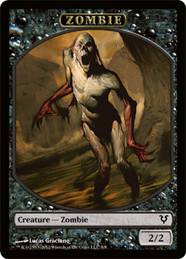 Zombie Token | Magic: The Gathering Card