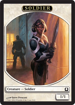 Soldier Token | Magic: The Gathering Card