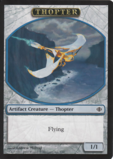 Thopter Token | Magic: The Gathering Card